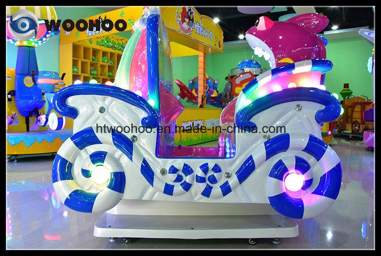 Indoor Playground Pricess′ Carriage Swing Wig Wag Machine