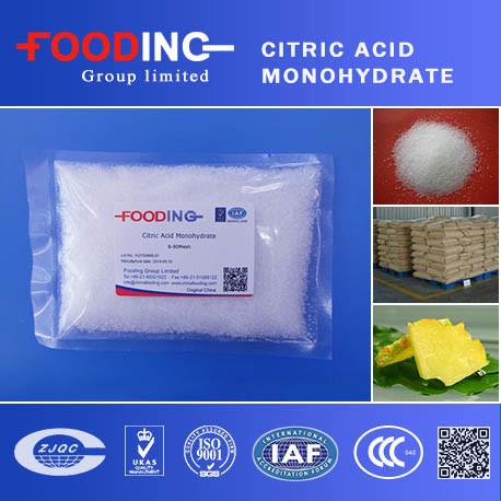 Best Price Food Grade Citric Acid Monohydrate
