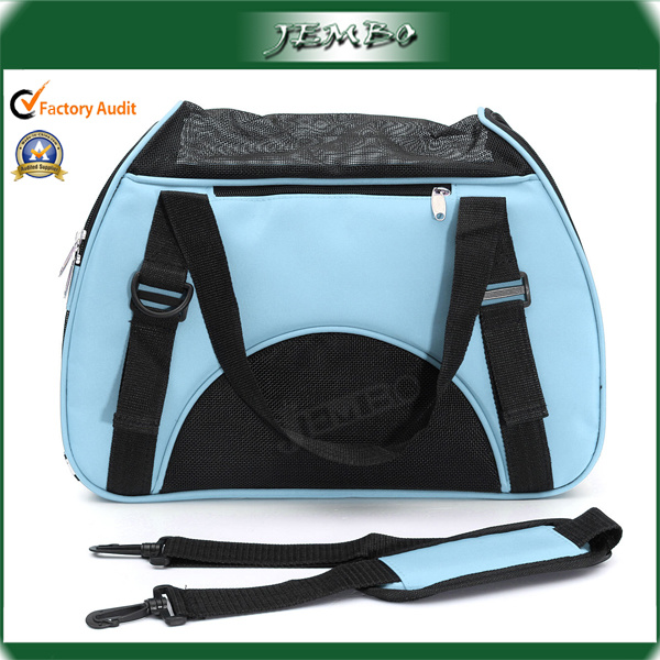 Blue Canvas Waterproof Promotion Travel Carry Pet Products