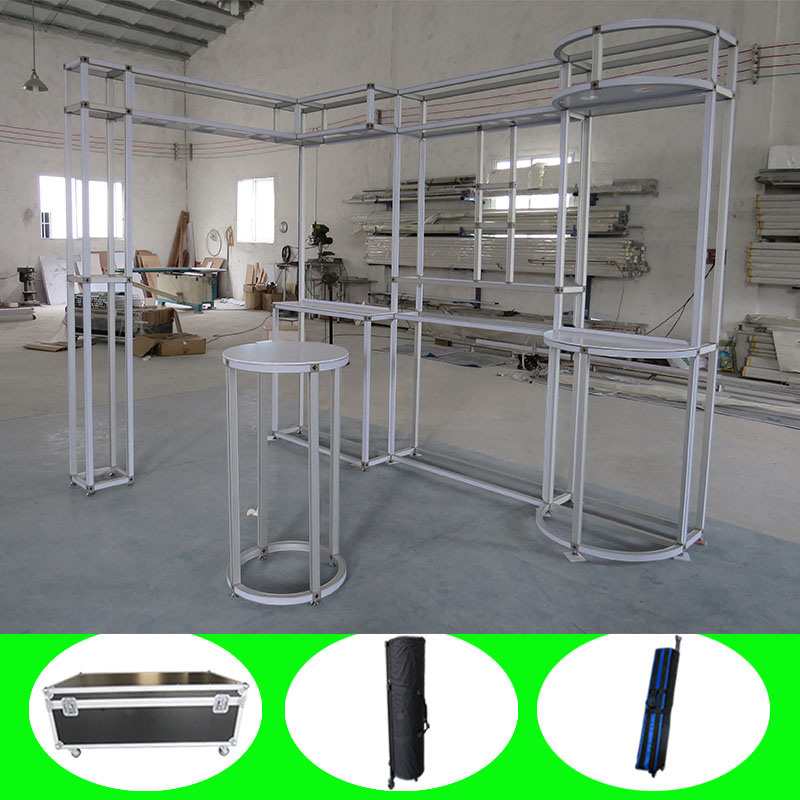 Customized Design Aluminum Material Portable Modular Canton Fair Booth Stand
