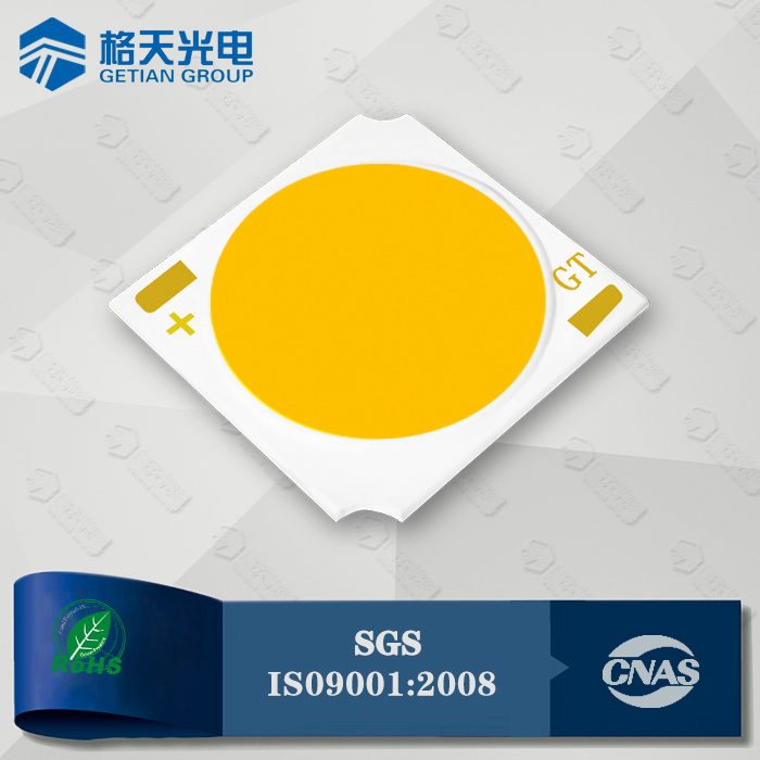 High Luminous Efficiency 140lm/W 15W COB LED CRI80 for Premium Commercial Lighting