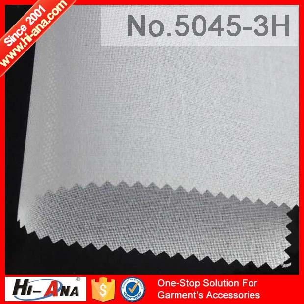 Free Sample Available Hot Selling Shirt Collar Interlining
