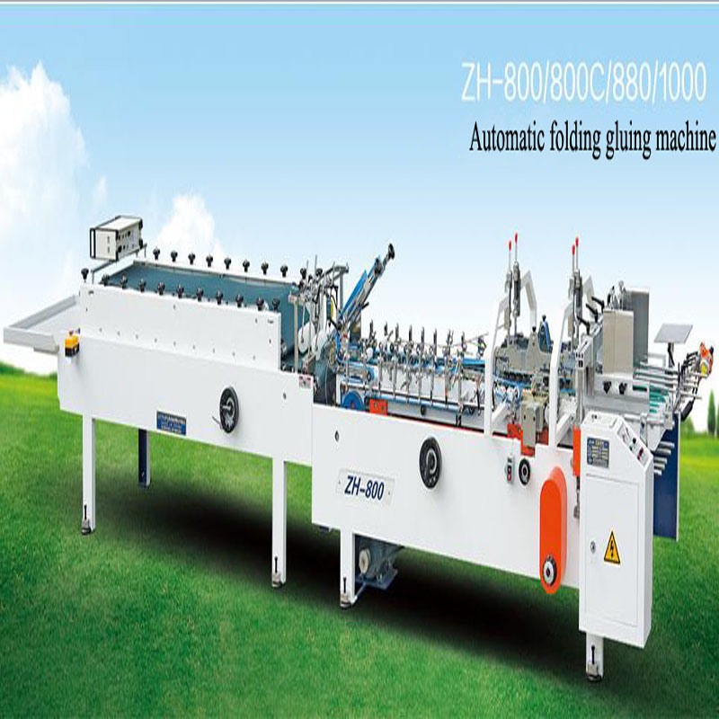 Automatic Folding Gluing Machine with High Quality
