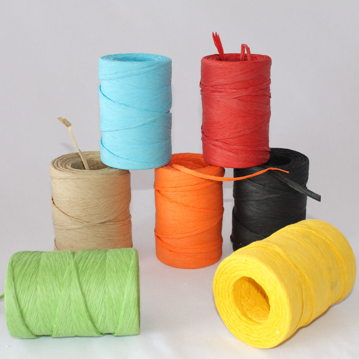 Colorful Raffia Ribbon Supplier