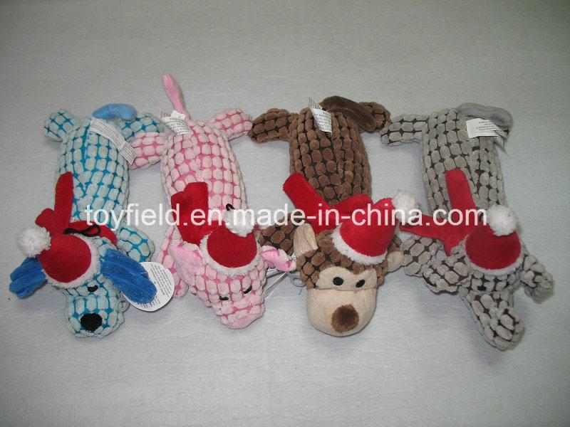 X′mas Rope Dog Toy Pet Plush Dog Product