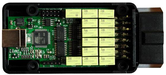 Mpm-COM Interface USB/Bt/WiFi+ Maxiecu Mpm COM Automotive Scanner Diagnostic Tool