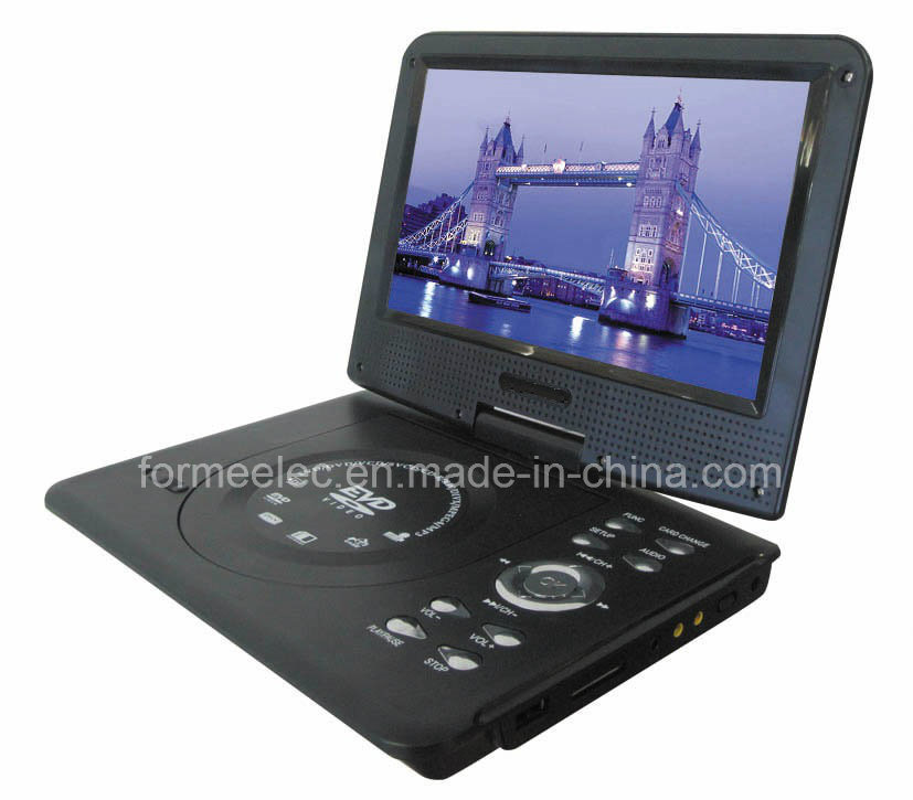 "9"" Car DVD Player Portable DVD Player with FM TV"