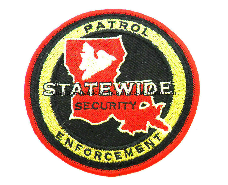 Embroidery Police Shoulder School Badge