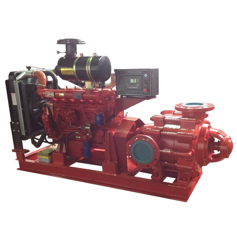 Multistage High-Pressure Fire Figting Diesel Water Pump