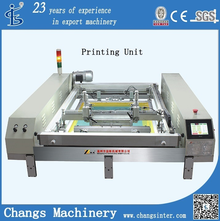 Spt Custom Automatic Flatbed Silk Screen Printing Machines for Sale at Home