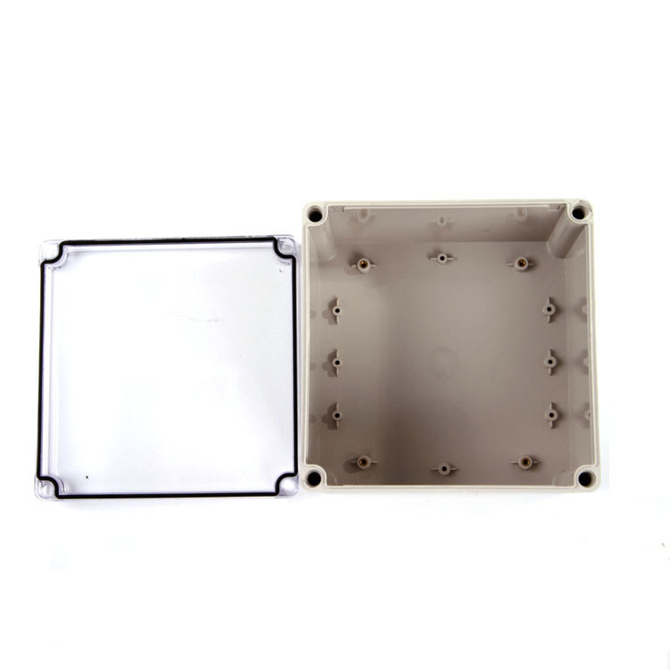 Clear Cover IP66 ABS/PC Toyogiken Waterproof Box 200X200X130mm