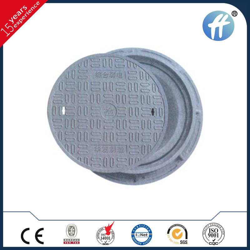 Anti-Theft Composite Manhole Cover