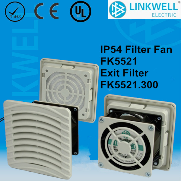 China Best Seller Good Quality Small Filter Fan for Panel Board (FK5521)
