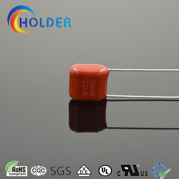 Metallized Polyester Capacitor (Cl21 224j/400V P=7.5)