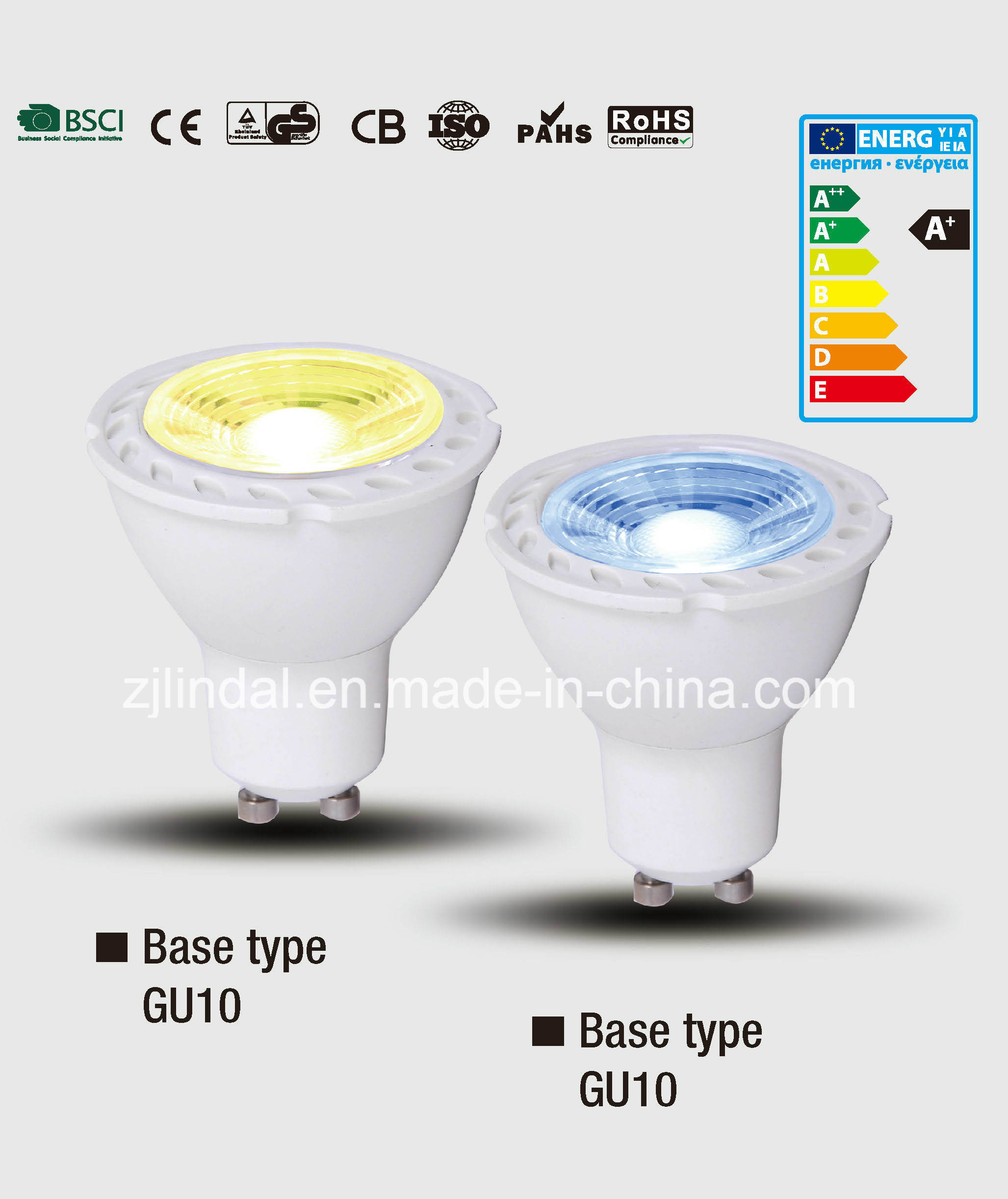 LED Colored Bulb GU10-Color