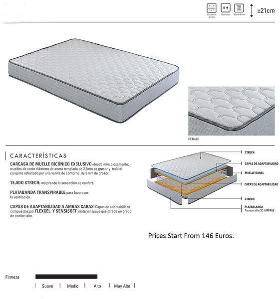Pocket Spring Mattress for Sale Normal Home Hotel Furniture