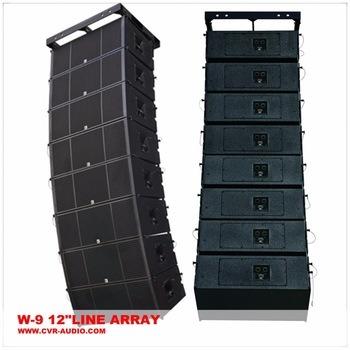Big Line Array Dual 12 Inch Outdoor Concert Professional Audio