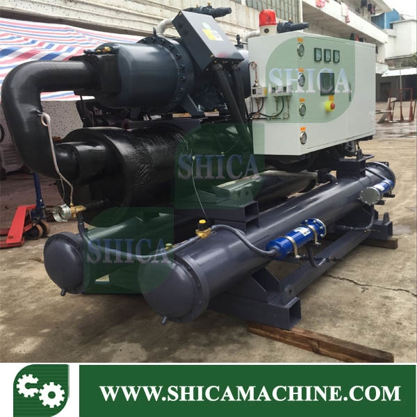 Screw Type Compressor Water and Air Cooling Cooled Refrigerator Water Chiller