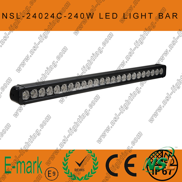 Super Bright 41inch 240W CREE Offroad SUV Truck Working Light Bar, CREE Work Lamp