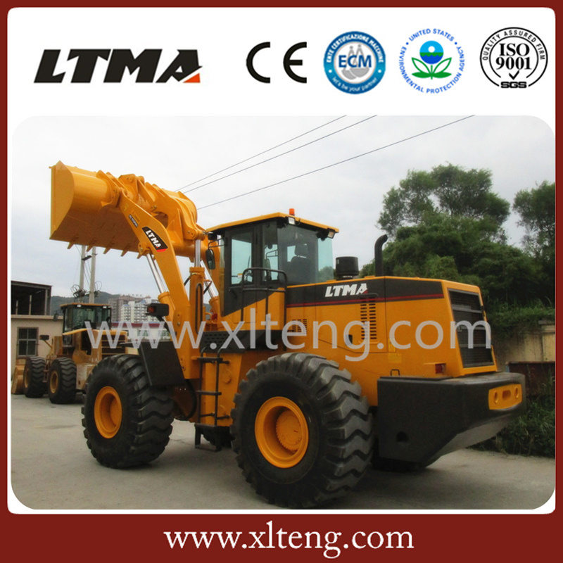 Top Quality New Design 6 Ton Wheel Tractor Front Loader