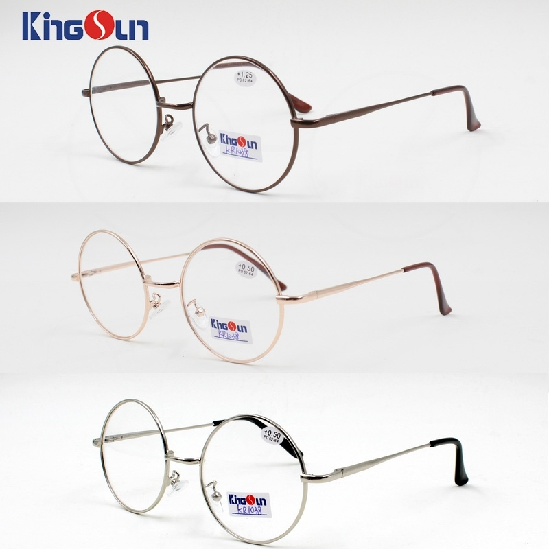 High Grade Classic Designer Glasses Selling Handmade Eyeglasses with Round Frames
