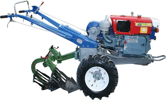 Walking Tractor with Diesel Engine