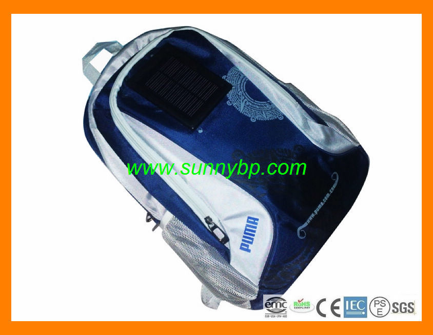 Fashion Solar Bag with Power Bank Laptop Charger