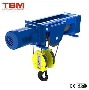 Foot-Mounted Hoist (4/1 Rope Reeving) , Boat Hoist, Car Hoist, Electric Wire Rope Hoist