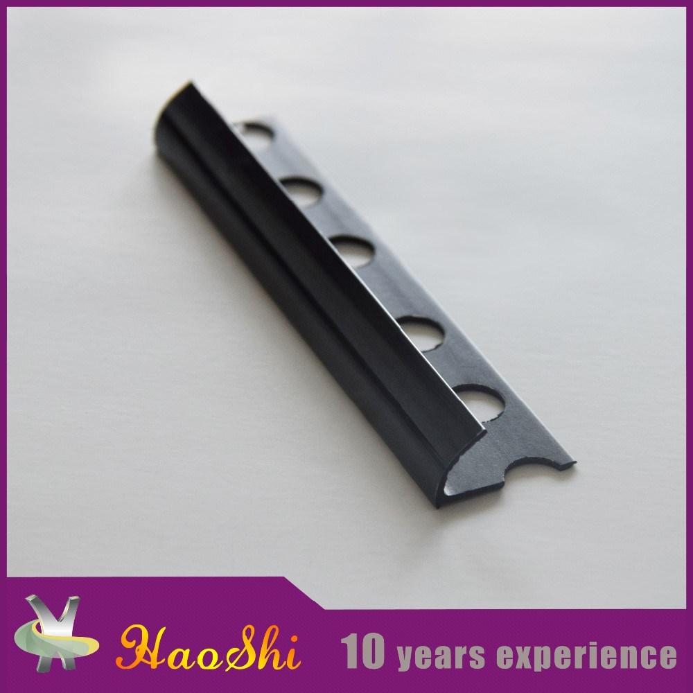 Haoshi Durable Round Closed Type PVC Corner Tile Trim (HSPO-01)