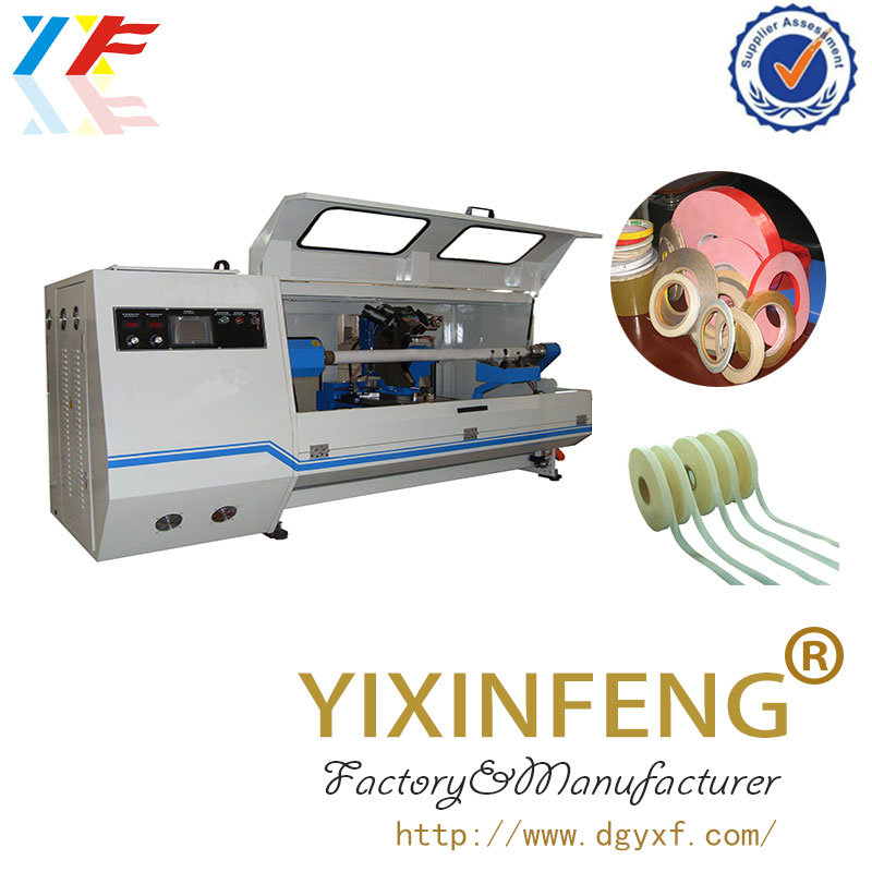 Automatic Film Fabric Paper Adhesive Tape Slitting Machine