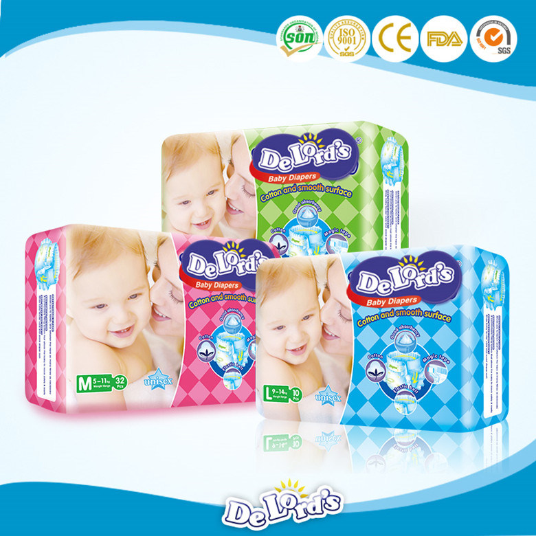2017 Baby Products Manufacturer in China Baby Diaper