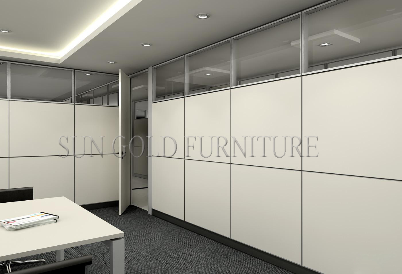 China Modern Used Soundproof Office Fabric Acoustic Partition ...