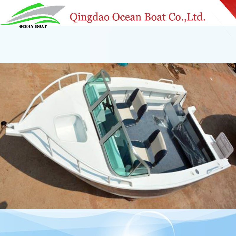 Hot Sale 5m/17FT Aluminum Fishing Boat Runabout Boat