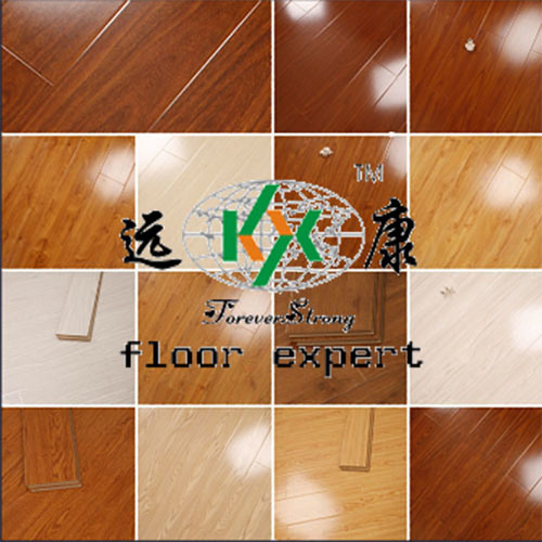 12mm High Gloss Laminate Wood Flooring with U-Groove