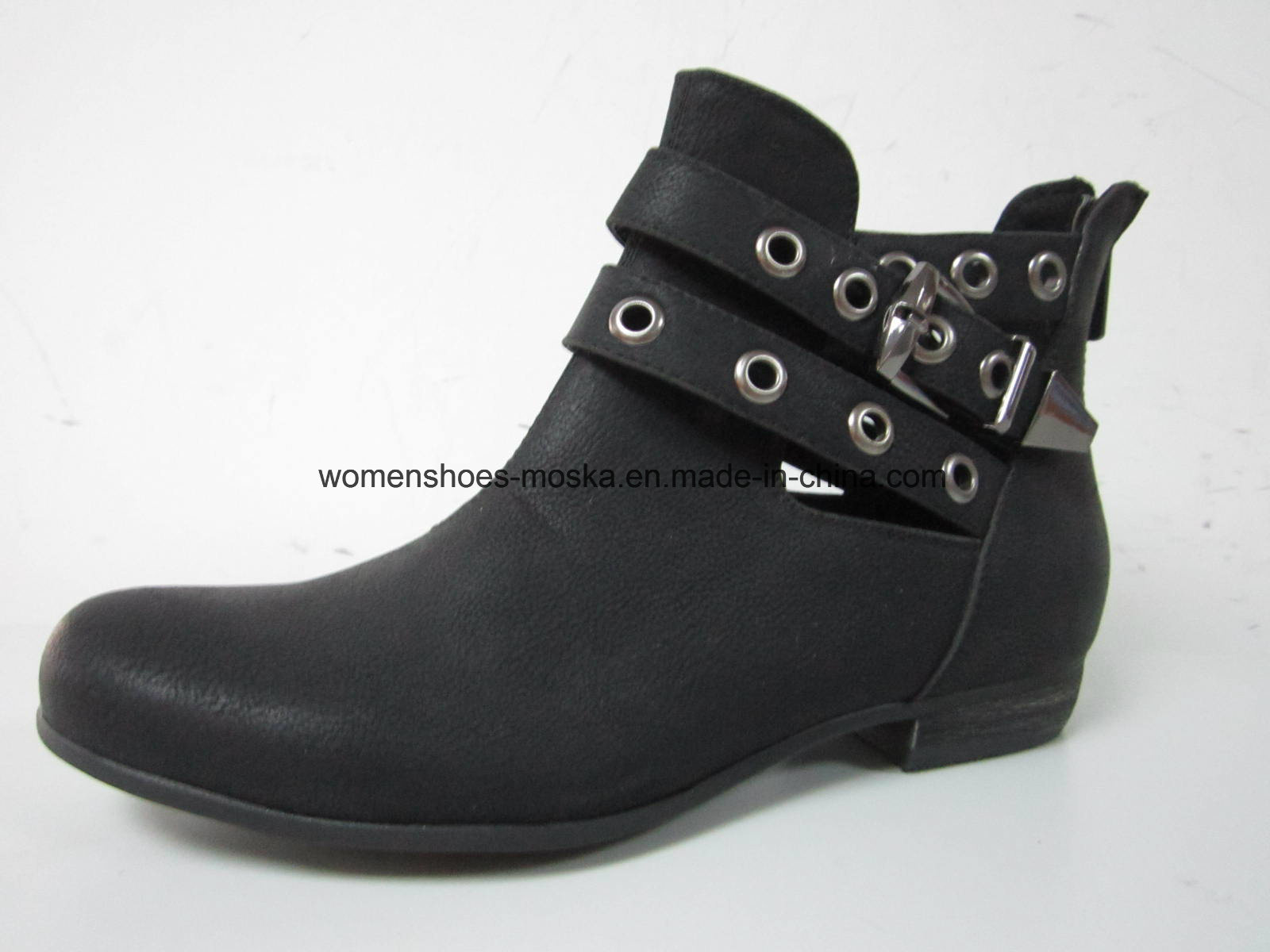 Comfort Women Fashion Low Heel Ankle Boots for Leisure