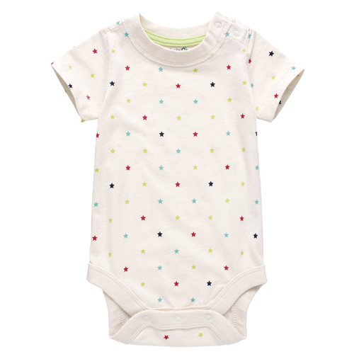 Newest 100% Organic Cotton Printed Infant Wear