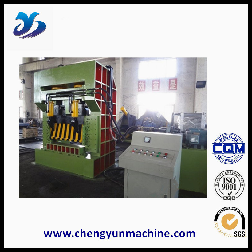 Gantry Type Cutter Machine for Metal Scrap Shearing