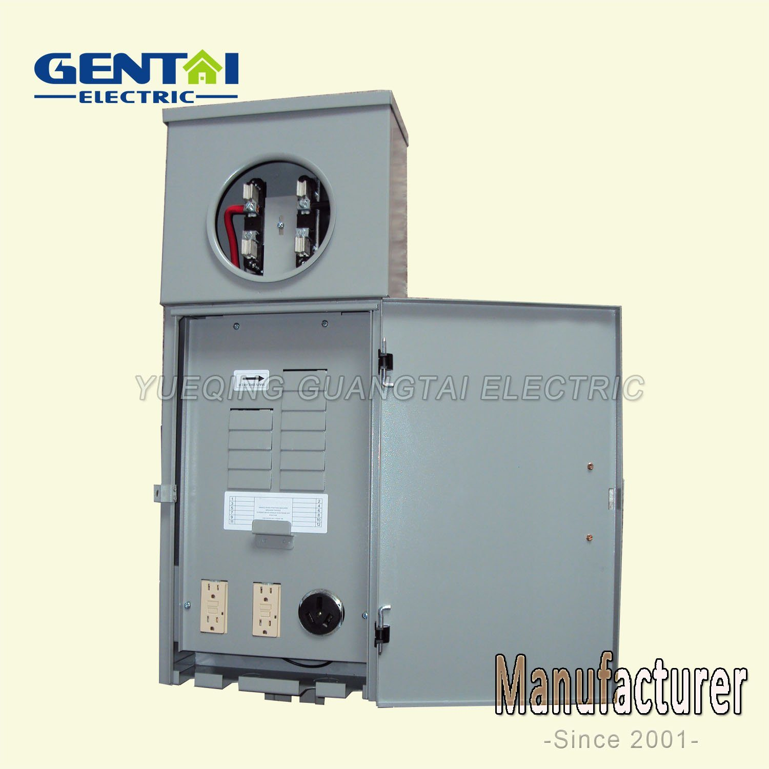 Chm2100mr2 100A Combination Meter Socket