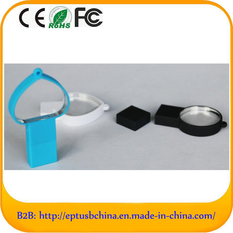 Self-Mould Design with Cheap Price Acrylic Memory USB (ET601)