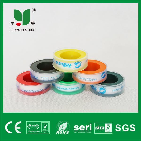 Teflon Tape PTFE Tape Seal Tape with Transparent Spool