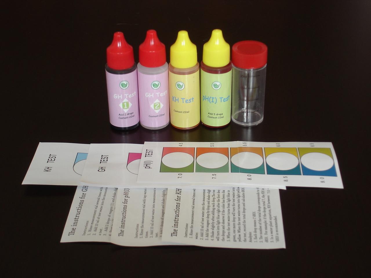 Test Kit for Aquarium and Fish Tank