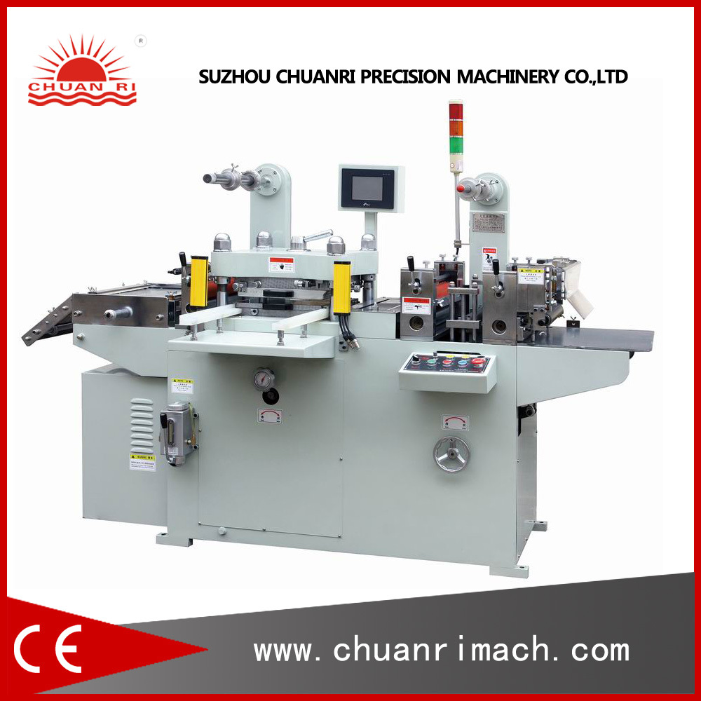 Punching & Hot Stamping Automatic Flatbed Die Cutter Machine