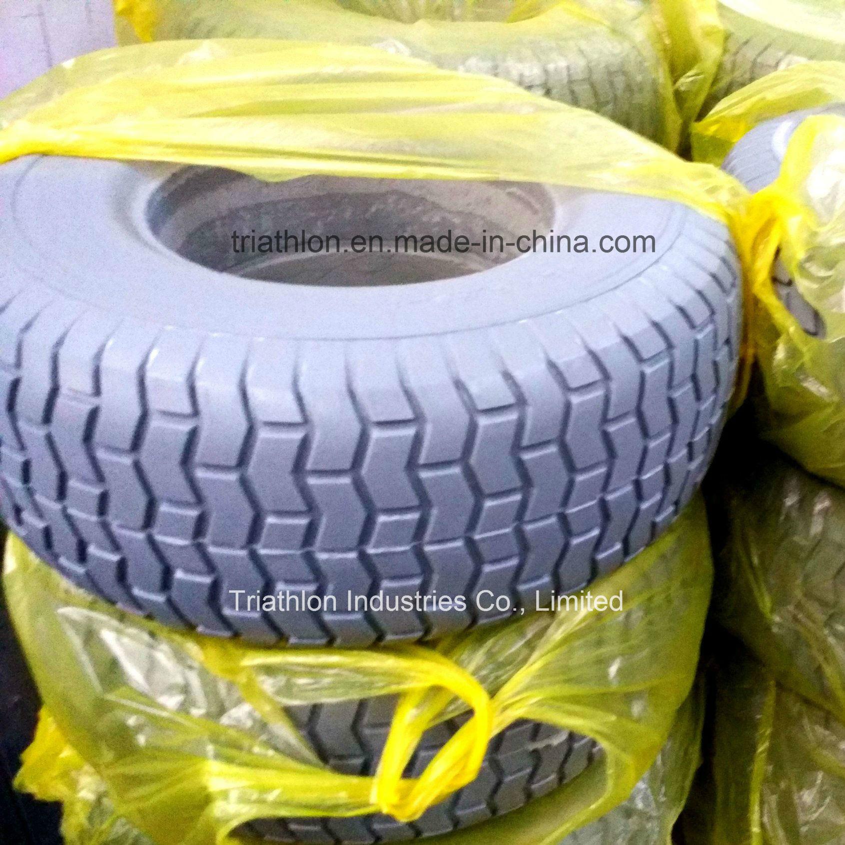 16X6.50-8 Narrow Turf Flat Free Garden Tractor Tires