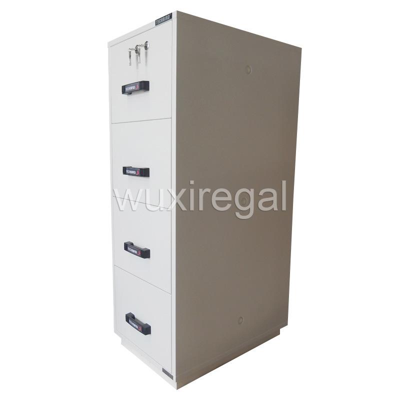 Fireproof File Cabinet, 1 Hour Vertical Cabinet (680FRD-4002)