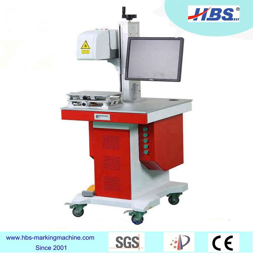 Metal Plastic Marking 30W Fiber Laser Marking Machine with Raycus Laser Source