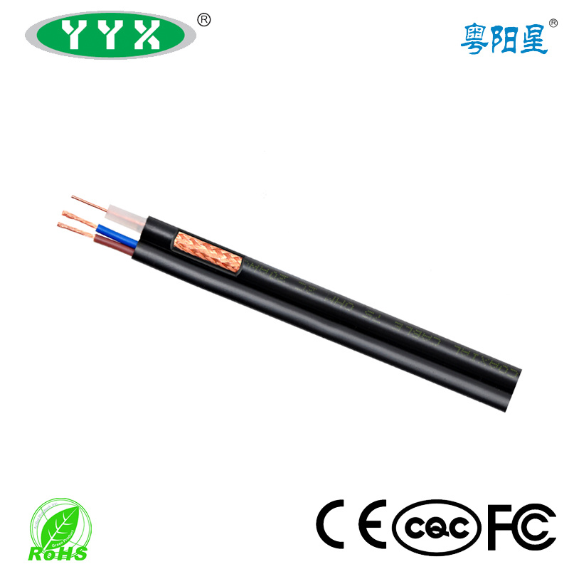 Rg59/RG6+Power (BC/CCA/CCS) Combined Cable