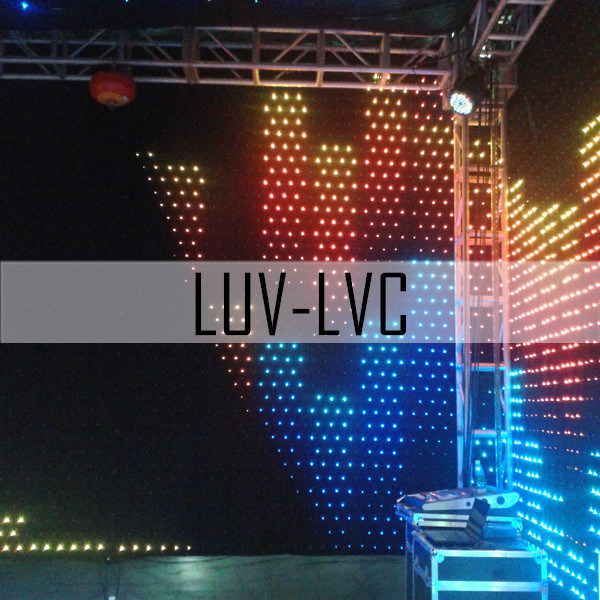 RGB LED Curtain/LED Stage Light (LUV-LVC)