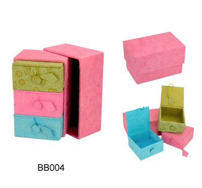 New Colorful Jewelry Storage Boxes (JB-039)