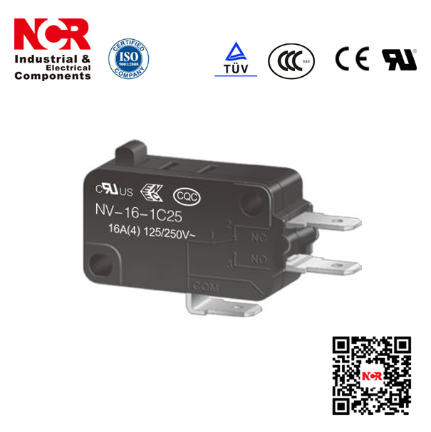 16A Micro Switch with RoHS UL (NV21/NV-16)