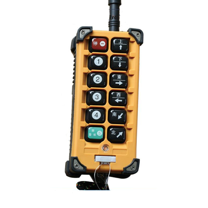 Portable Industrial Crane Wireless Radio Remote Control (F23-BB)